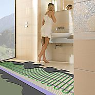 Radiant Floor Tile Warming Mats - Warm Tile Floors