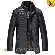Quilted Down Filled Jackets Men CW846082 - cwmalls.com