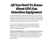 Buy High Quality Gas Detection Equipment