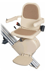 curved stairlift rental - Oakland Stairlifts