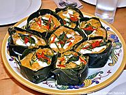 Haw Mok Talay (Steamed Seafood Custard)