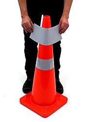 Reflective Cone Collars