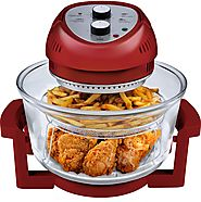 Big Boss 9063 Oil Less Air Fryer in Red - Kitchen Things