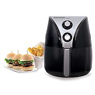 Black & Decker HF110SBD 2-Liter Oil Free Air Fryer - Kitchen Things