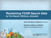 Reclaiming Your Google Referral Data - by Tim Resnik