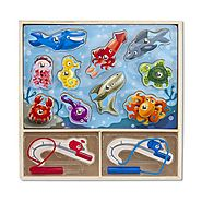 Melissa and Doug Magnetic Fishing Pole Toy Powered by RebelMouse