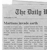 RESOURCES FOR NEWS LITERACY | The Newspaper Clipping Image Generator - Create your own fun newspaper