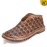 CWMALLS Leather Flat Shoes CW306002