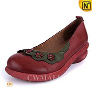 CWMALLS Floral Leather Loafers CW306006