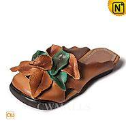 CWMALLS Leather Wedge Sandals CW306208