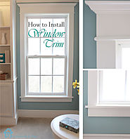 How to Install Window Trim - Pretty Handy Girl