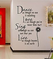 Dance, Love, Sing & Live Quote
