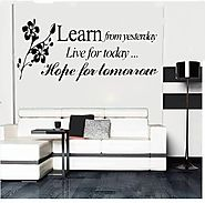 Learn From Yesterday Quote
