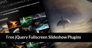 25 Best Free jQuery Fullscreen Slideshow Plugins of 2013