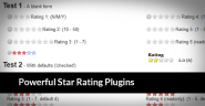 20 Powerful Free Star Rating Plugins Coded with jQuery and AJAX