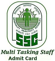 SSC MTS 2015 Admit Card - SSC Multi-Tasking Staff Hall tickets Download - Govt jobs Exam Results 2015 Admit Cards And...