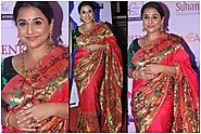 8 Times Vidya Balan Rocked The Saree Look