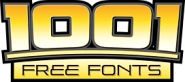 1001 Free Fonts - Download Free Fonts for Windows and Macintosh