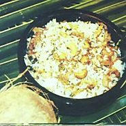 Thenga Choru (Coconut Rice)