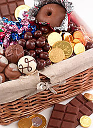 Make your own chocolate gift basket