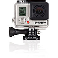 GoPro HERO3+ Silver Edition w/ GoPro Wall Charger &