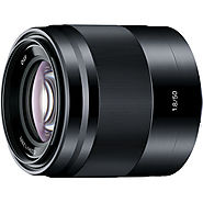 Sony E 50mm f/1.8 OSS Lens (Black) SEL50F18/B B&H Photo Video