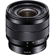 Sony 10-18mm f/4 OSS Alpha E-mount Wide-Angle Zoom Lens SEL1018