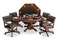 Best Rated Poker Dining Table Sets (with image) · kristin_gunnars