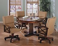 Poker Dining Table Set