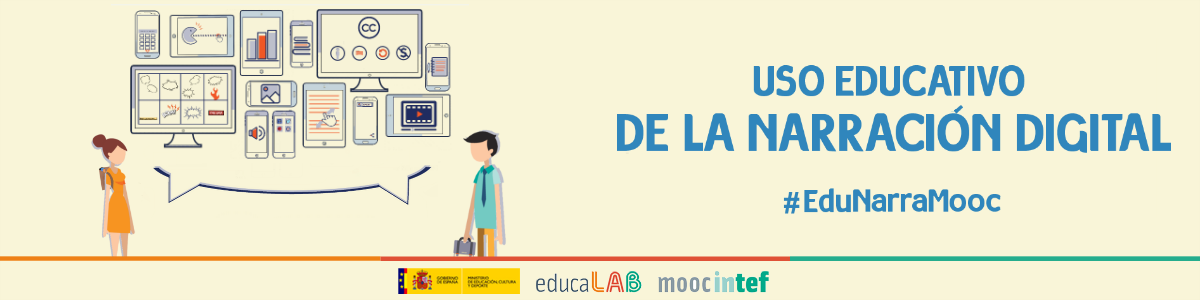 "Headline for MOOC ""Uso educativo de la narración digital"""