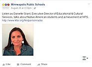 Minneapolis Publc Schools' Executive Director of Educational & Cultural Services is featured on First Person Radio.