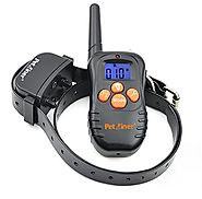 Petrainer 210 Yards Remote Training E-collar PET998N Rechargeable and Waterproof Dog Training Collar with Safe Beep a...