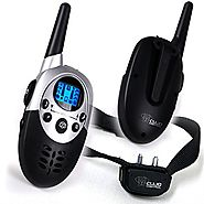 Dog Training Collar With Remote - 8 Levels of Shock and Vibration Correction Plus Sound Mode - Fully Adjustable Elect...