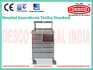 Hospital Anaesthesia Trolley Manufacturers India