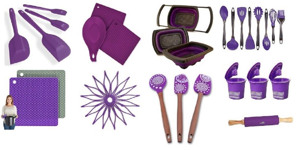 Headline For Awesome Purple Kitchen Accessories, Gadgets, Utensils And  Appliances For Your Home Decor