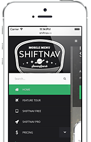 ShiftNav Pro - Responsive Off-Canvas Mobile Menu for WordPress