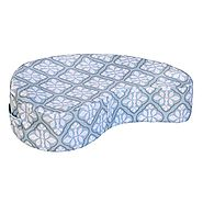 JJ Cole Paisley Nursing Pillow, Blue Iris