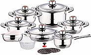 Swiss Inox Si-7000 Stainless Steel Cookware Set