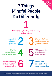 7 Things Mindful People Do Differently and How To Get Started - Mindful