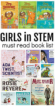 Girls In STEM Book List - No Time For Flash Cards