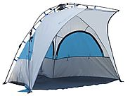 Lightspeed Outdoors Bahia Beach Pop Up Sun Shelter Tent