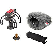 Rycote Windshield and Suspension Kit for Zoom H5 Portable 046025