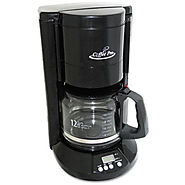 Coffee Pro Home/Office 12-Cup Coffee Maker, Black - Kitchen Things