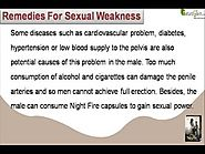 Herbal Remedies For Sexual Weakness Problem In Men To Improve Lovemaking