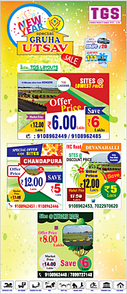 TGS Layouts times it perfectly to hold a festival of Homes with additional discounts and offers.