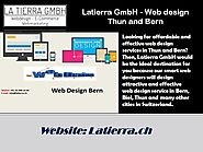 Latierra GmbH - Web design Thun and Bern