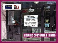 Plaza Cleaners helps out customers at the greatest time of need