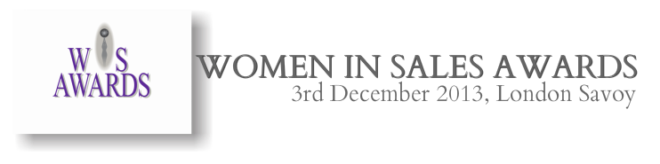 Headline for Women In Sales Awards
