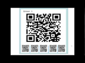 Tell a story with QR codes