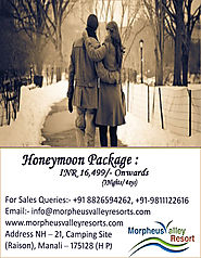 Honeymoon Packages for Manali